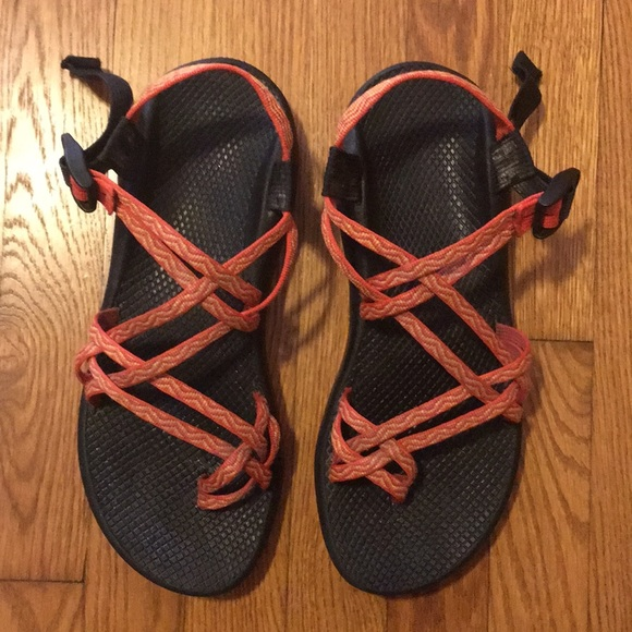cb522bf1f0b6 Chaco Shoes - Chaco ZX 2 Classic orange sport sandal size 12